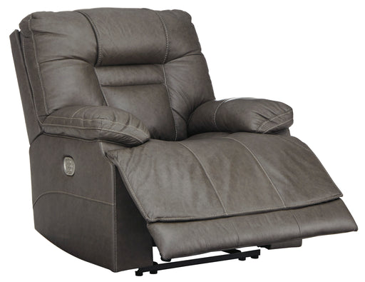 Wurstrow - Power Recliner w/ Adjustable Headrest - Genuine Leather - 2 Colors