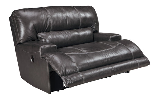 McCaskill - Wide Seat Recliner - Genuine Leather - Optional Power