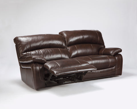 Damacio - Reclining Sofa - Genuine Leather - Optional Power