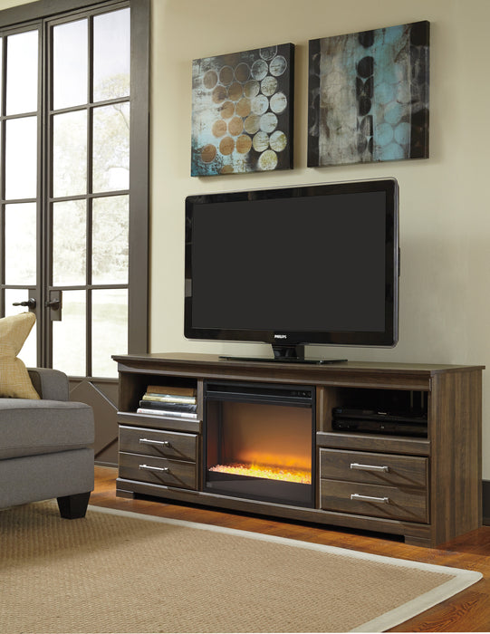 Frantin TV Stand - Optional Fireplace