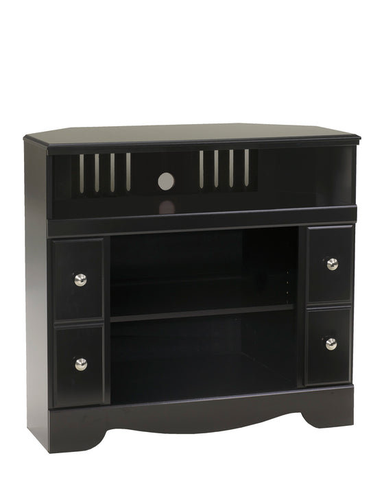 Shay Corner TV Stand - Optional Fireplace