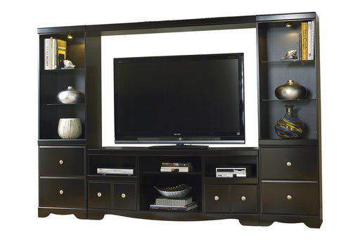 Shay - Entertainment Center or TV Stand Only - Optional Fireplace