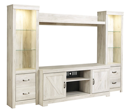 Bellaby - Entertainment Center or TV Stand Only - Optional Fireplace
