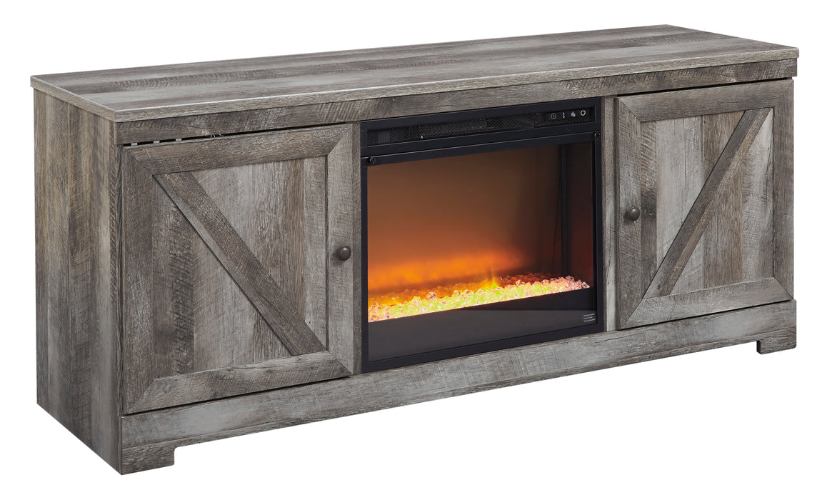 Wynnlow - Entertainment Center or TV Stand Only - Optional Fireplace