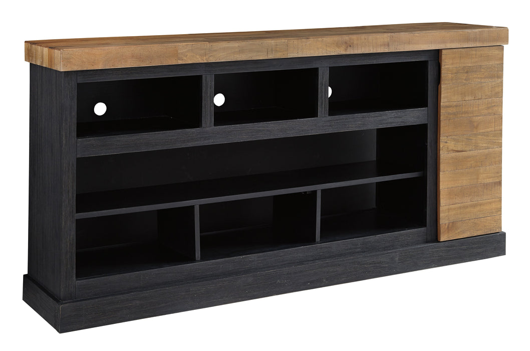 Tonnari TV Stand - Optional Fireplace