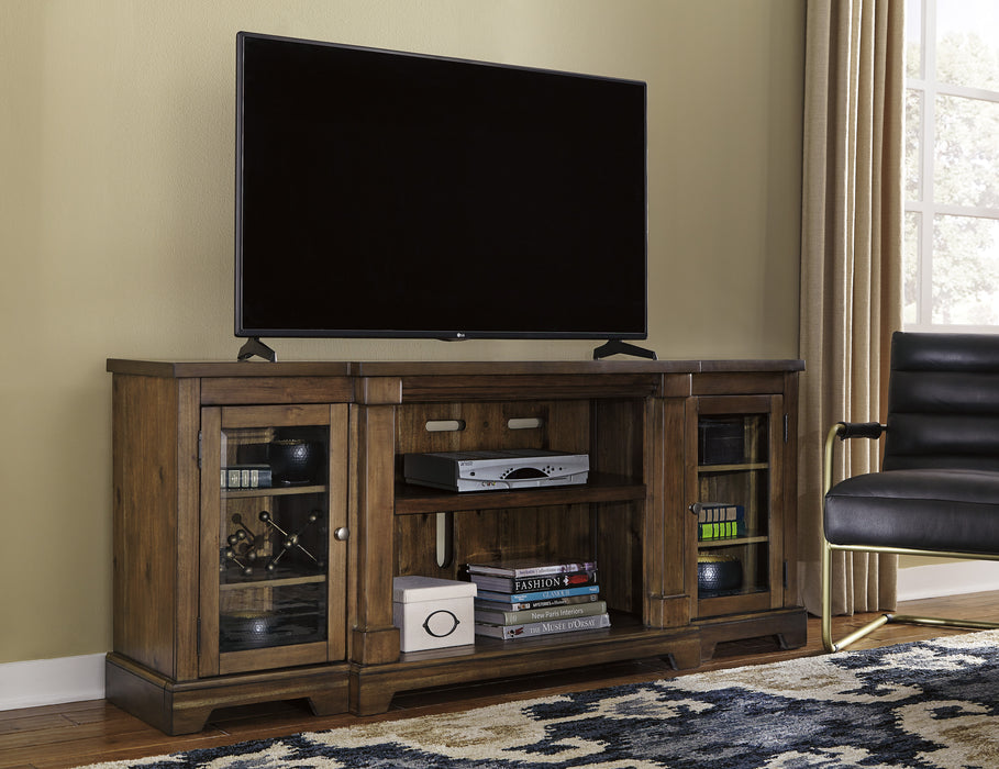 Flynnter TV Stand - Optional Fireplace