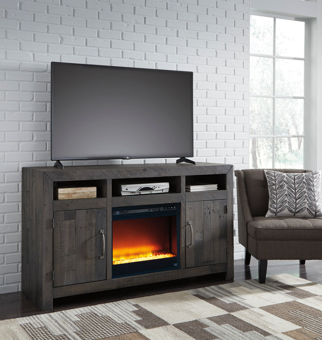 Mayflyn TV Stand - Optional Fireplace