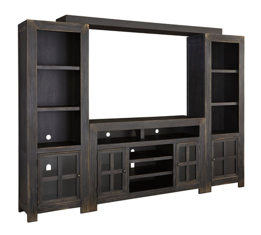 Gavelston - Entertainment Center or TV Stand Only - Optional Fireplace
