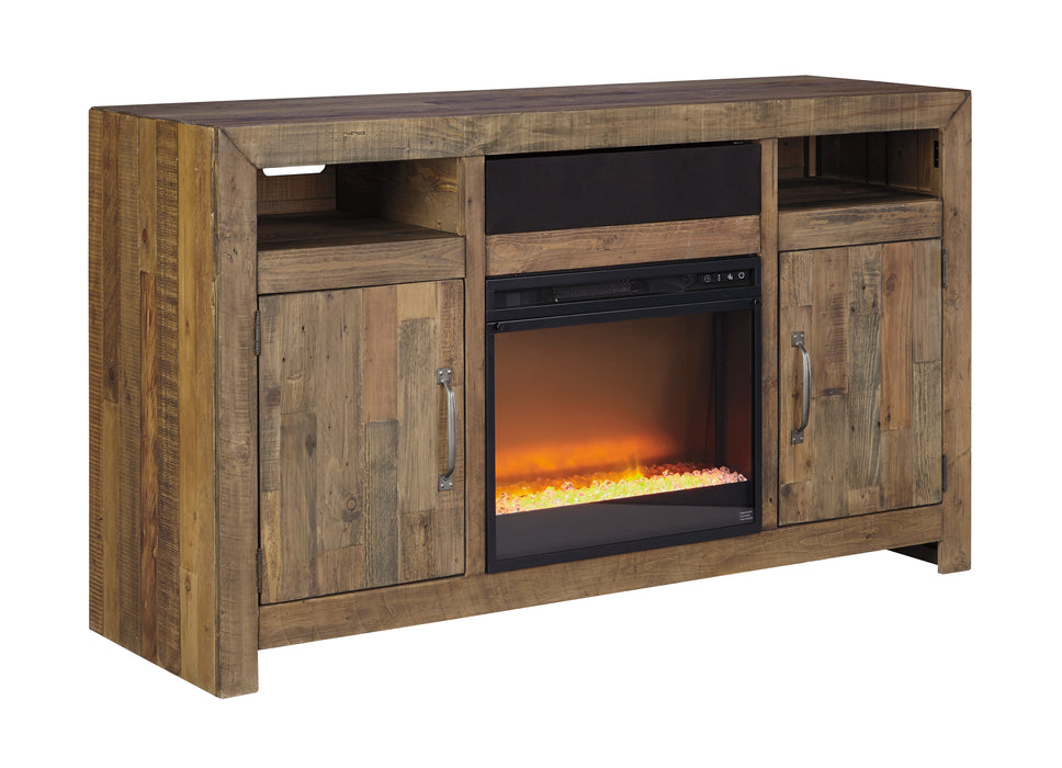 Sommerford - TV Stand - Optional Fireplace