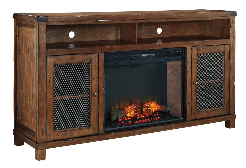 Tamonie TV Stand - Optional Fireplace