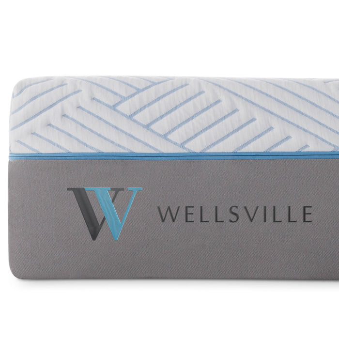 "WELLSVILLE 14"" CARBONCOOL™ MATTRESS"