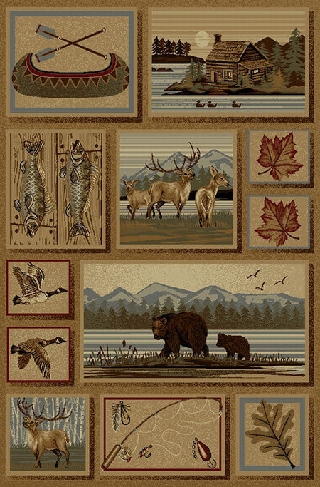 Persian Weavers Nature Wilderness Rug