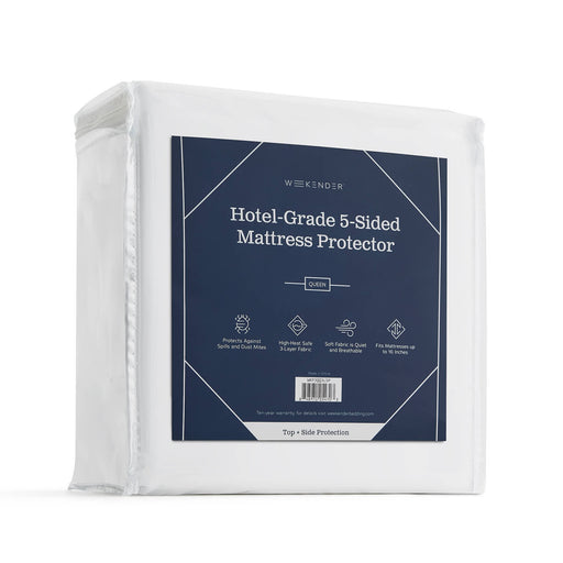 HOTEL-GRADE 5-SIDED MATTRESS PROTECTOR