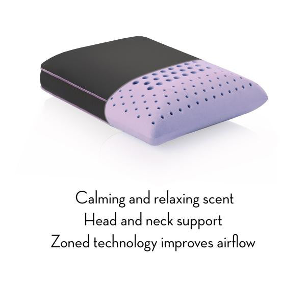Z PILLOW TRAVEL ZONED DOUGH® LAVENDER
