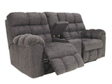 Acieona Reclining Loveseat with Center Console