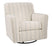 Alandari Swivel Glider Accent Chair