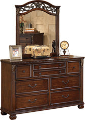 Leahlyn - Dresser - Warm Brown