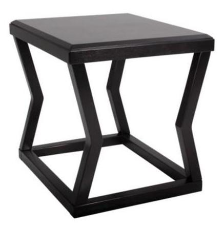 Kelton Rectangular End Table - Espresso