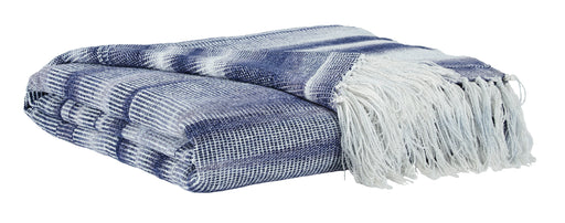 Augustin - Blue - Throw Blanket