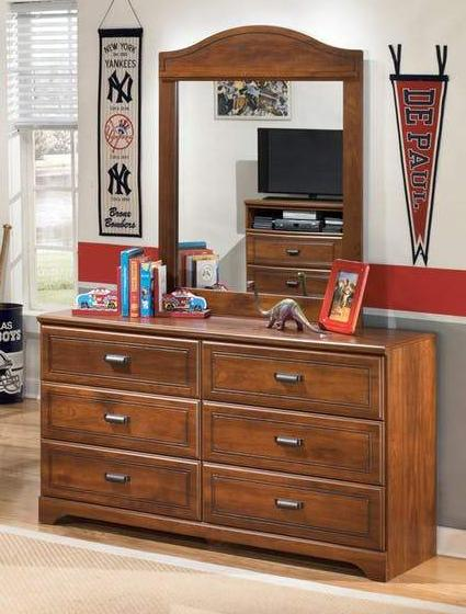 Barchan - Dresser - Warm Brown