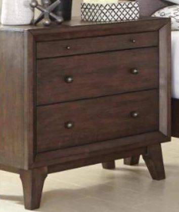 Bingham - Nightstand - Brown Oak