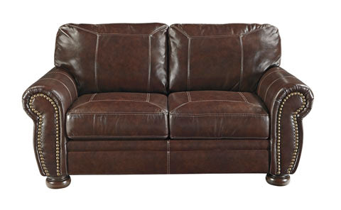 Banner Loveseat - Genuine Leather