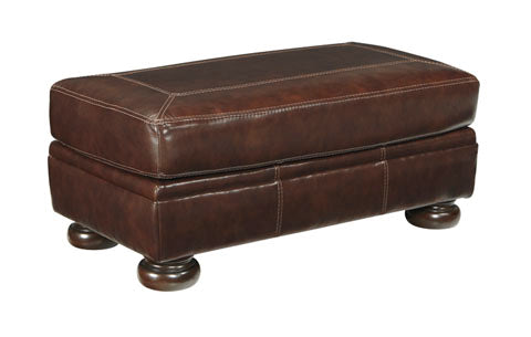 Banner Ottoman - Genuine Leather