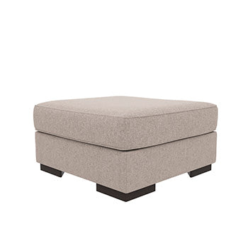 Bantry Nuvella Oversized Accent Ottoman in 2 Colors