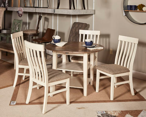 Bardilyn Round Drop Leaf Table