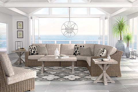 Beachcroft Outdoor Sectional Piece-By-Piece