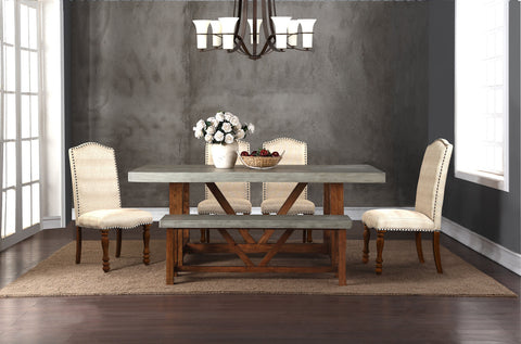 Bohemian Collection // 7PC or 6PC Dining Set in Standard Height