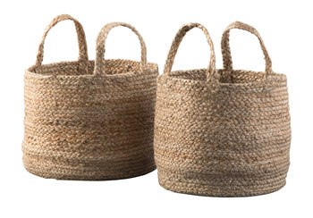 Brayton Braided Jute Basket