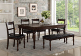 Breckenridge Collection / 6PC or 7PC Rectangle Standard Height Set
