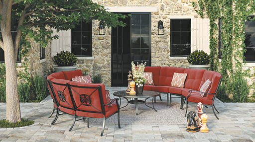 Burnella Outdoor Sectional Piece-By-Piece