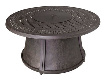 Burnella Outdoor Round Fire Pit Base and Table Top