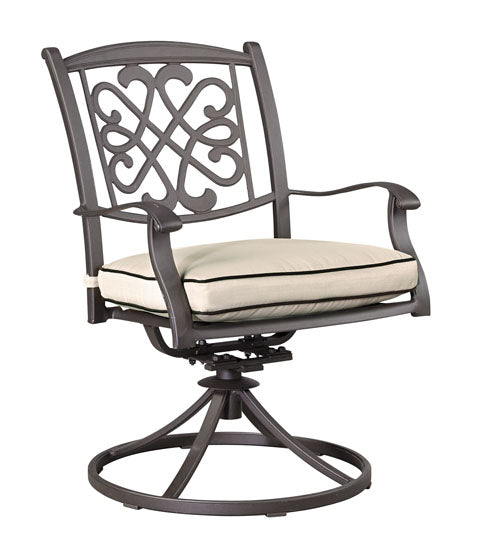 Burnella Outdoor Swivel Chair with Cushion - Set of 2