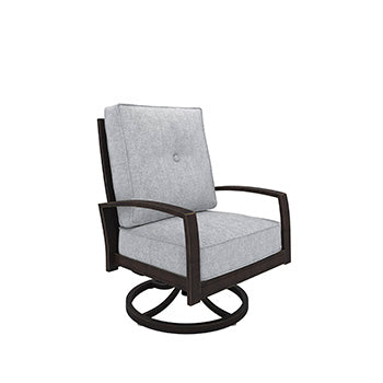 Castle Island Outdoor Swivel Lounge Chair