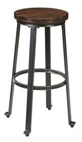 Challiman Bar Stool - 2 Heights