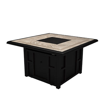 Chestnut Ridge Outdoor Square Fire Pit Table