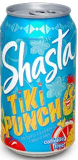 Shasta Tiki Punch - 12 oz Can