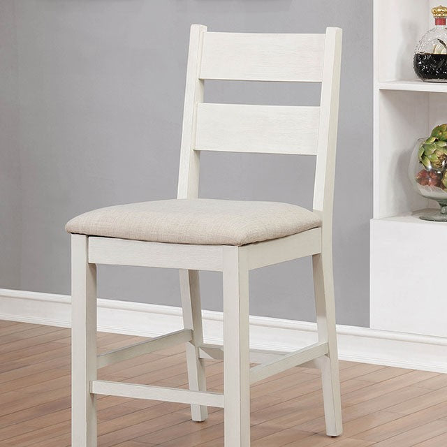Glenfield Counter Height Chair - Weathered White