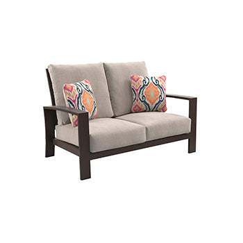 Cordova Reef Outdoor Loveseat with Cushion