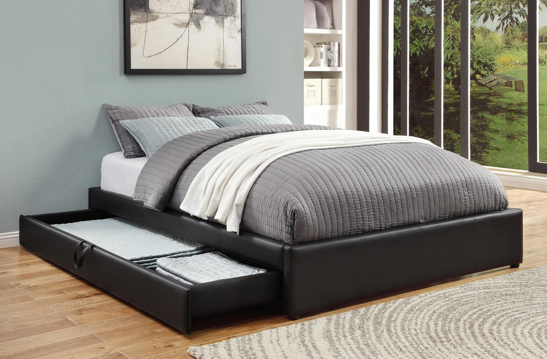 Hunter Storage Upholstered Bed