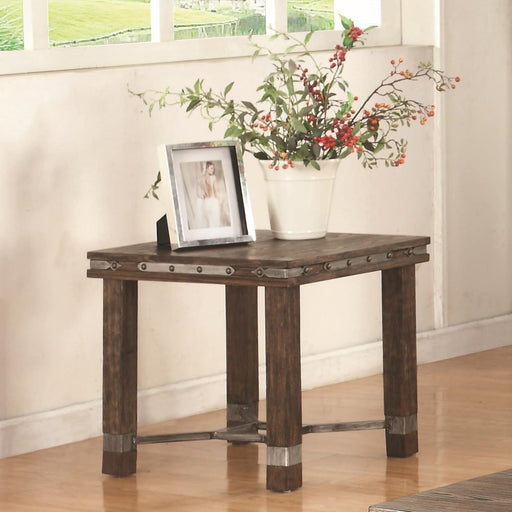 Coaster Co End Table - Dark Brown - DISCONTINUED