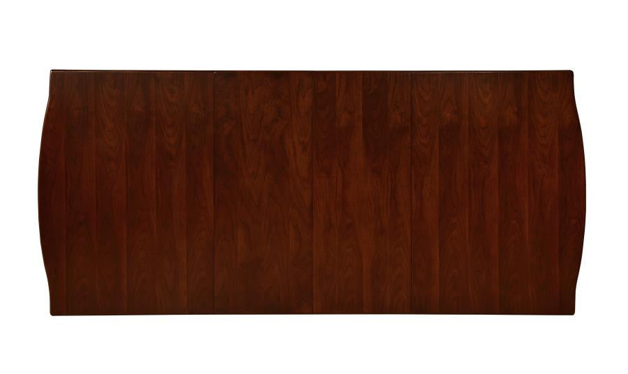 Alyssa Dining Table - Dark Cognac