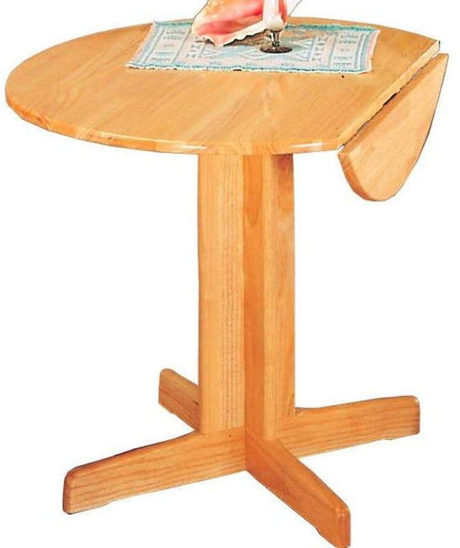 Benson Drop Leaf Dining Table - Natural