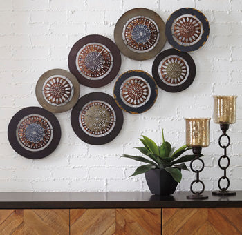 Dhruv Metal Wall Decor