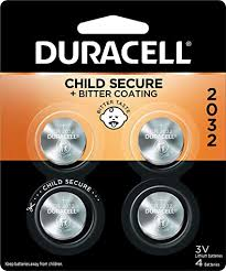 Duracell Button Cell Lithium 4PK, 3V 2032