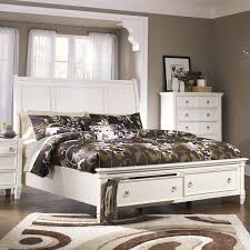 Prentice - Storage Bed - White