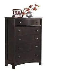 Harmony - Five Drawer Chest - Dark Brown